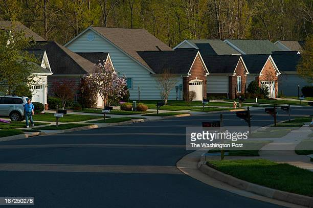 The active adult gated community of Heritage Hunt Golf and Country Club has over 3,000 homes with quiet streets as seen Thursday April 18, 2013 in...