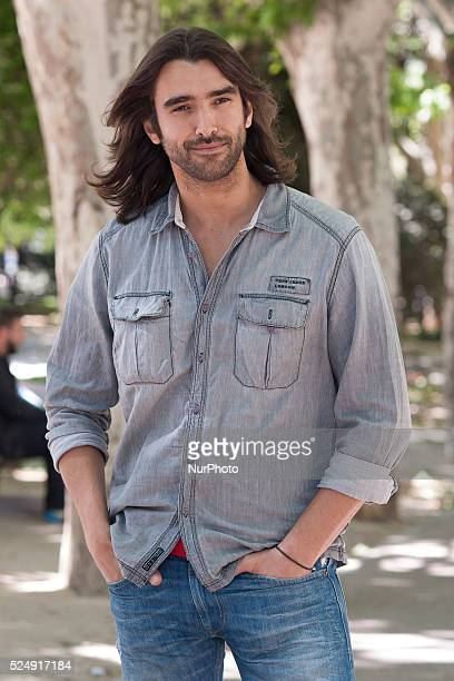 The actor Aitor Luna presentation of the movie quotKilling timequot on May 15 2015 in the square of Spain in Madrid