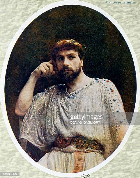 The actor Albert Lambert in the role of Nero in Britannicus by Jean Racine
