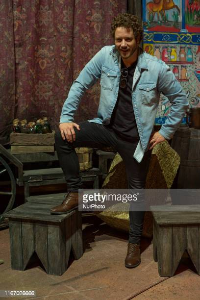 the actor and singer Daniel Diges poses during the presentation of the musical El Medico at the Nuevo Apolo theater in Madrid September 9 2019 Spain