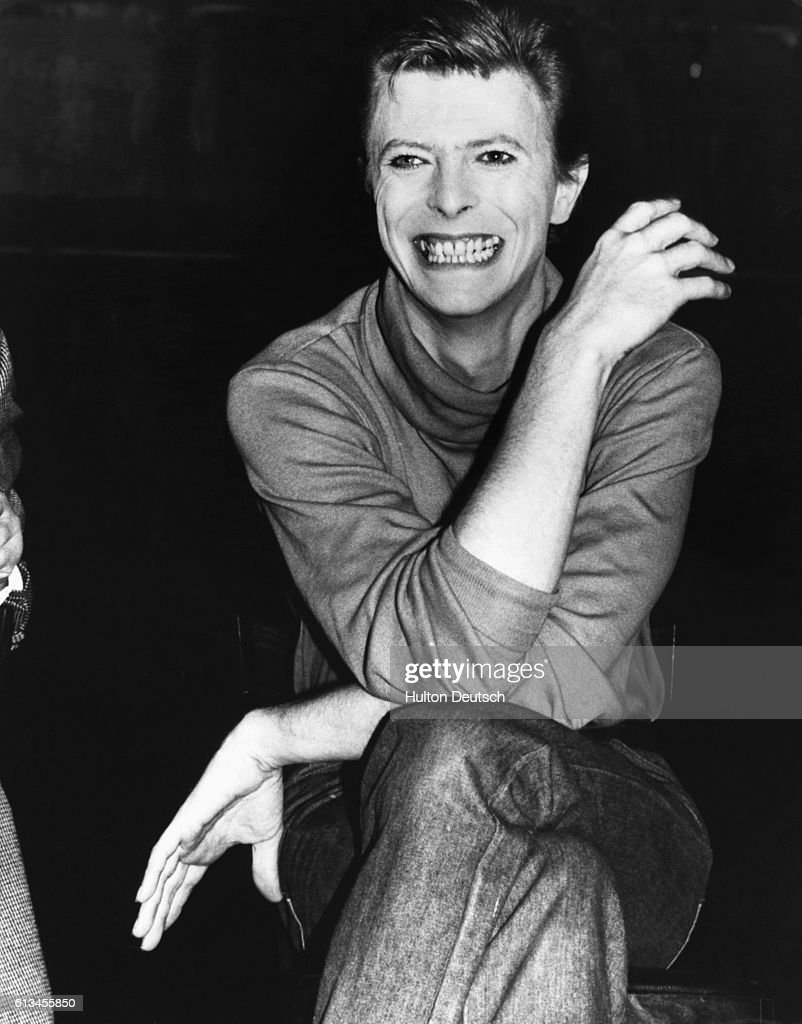 The actor and singer David Bowie. His performance in the Broadway show The Elephant Man has been much acclaimed.