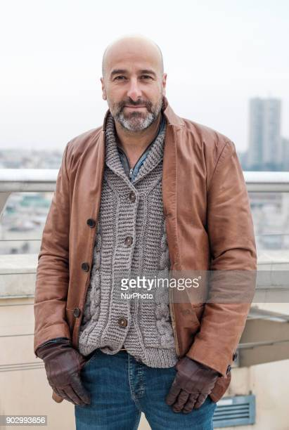 The actor Antonio Gil attends the presentation of the work Hablar por Hablar at the Circulo de Bellas Artes in Madrid Spain January 9 2018