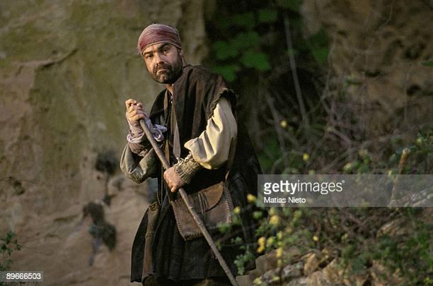 The actor Antonio Resines during the filming of the movie ´La Marrana´ of Jose Luis Cuerda
