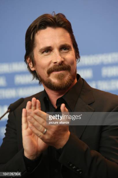 The actor Christian Bale attends the press conference for 'American Hustle' during the 64th annual Berlin Film Festival in Berlin Germany 07 February...