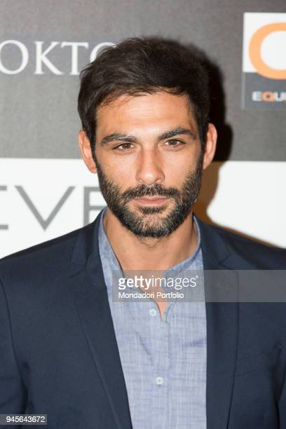 The actor Francesco Arca attending the charity gala Never Give Up at The Westin Palace of Milan Milan Italy 4th April 2017