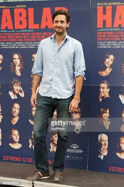 The actor Juan Diego Botto attend 'Hablar' photocall at Mirador Sala on June 10 2015 in Madrid Spain