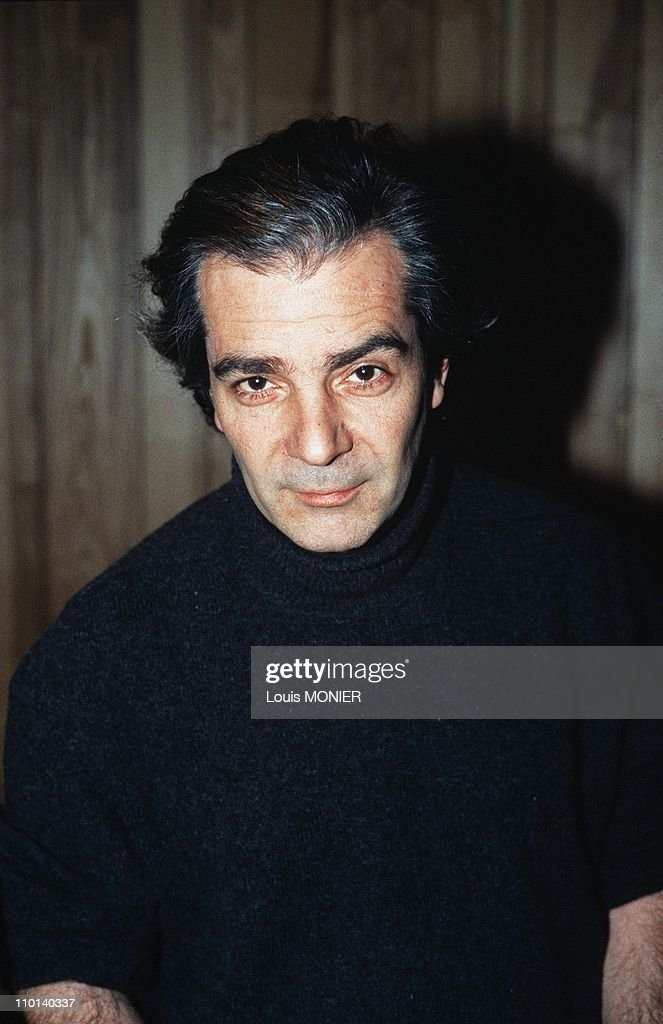 The actor Pierre Arditi in France in February, 1987. News ...