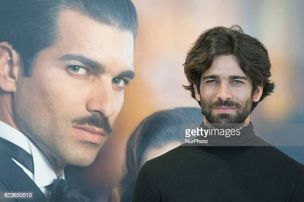 The actor Ruben Cortada attends the presentation of the TV series quotWhat hid his eyesquot in Madrid Spain on 16 November 2016