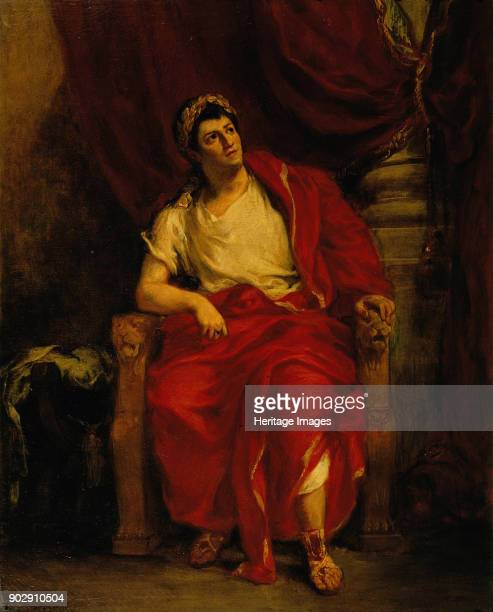 The Actor Talma as Nero in Britannicus Found in the Collection of Comédie Française Paris