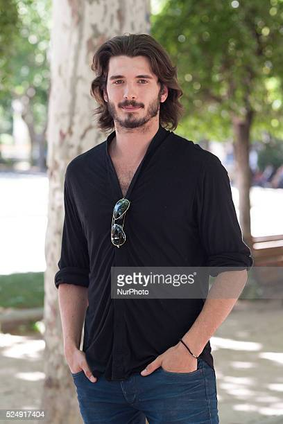 The actor Yon Gonz��lez Luna presentation of the movie quotKilling timequot on May 27 2015 in the square of Spain in Madrid