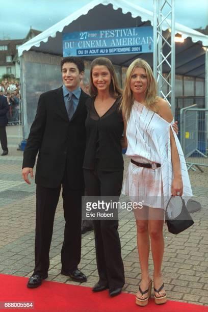 The actors of the film 'American Pie 2' by Jason BRogers Jason Biggs Shannon Elizabeth and Tara Reid