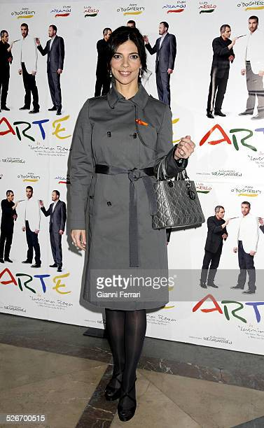 The actress and TV presenter Maribel Verdu at the premiere of the play Art at the Alcazar Theatre3rd March 2009 Madrid Spain