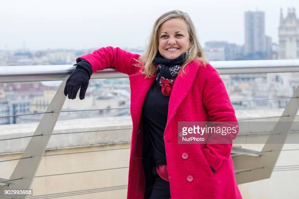 The actress Angeles Martin attends the presentation of the work Hablar por Hablar at the Circulo de Bellas Artes in Madrid Spain January 9 2018