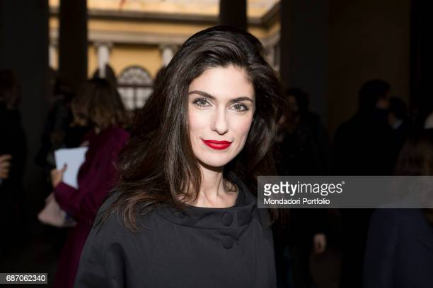 The actress Anna Valle in Milan Milan Italy 25th February 2015