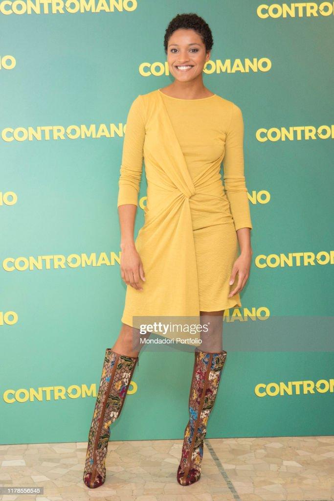 The actress Aude Legastelois : News Photo