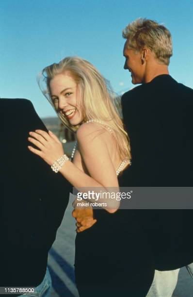 the actress Jennie Garth in Los Angeles