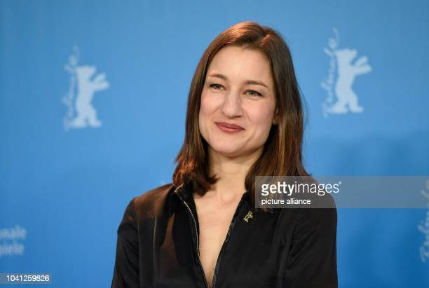 "The actress Maria Leuenberger during the photo call of the film ""Bright Nights"" at the 67th International film festival in Berlin, Germany, 13..."