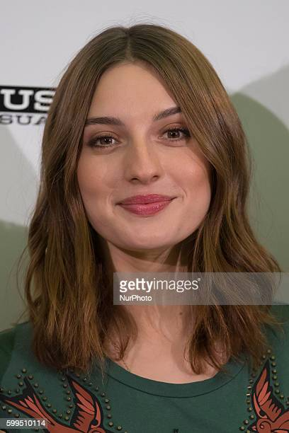 The actress Maria Valverde attends the presentation of the movie quotGernikaquot in the film PalFox in Madrid Spain on September 5 2016
