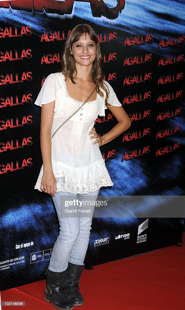 The Actress Michelle Jenner in the premiere of the film 'Agallas', 3rd September 2009, Cinema 'Proyecciones', Madrid, Spain.