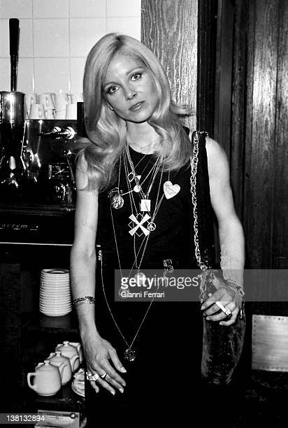 The actress of the United States Sue Lyon in a party Madrid Spain