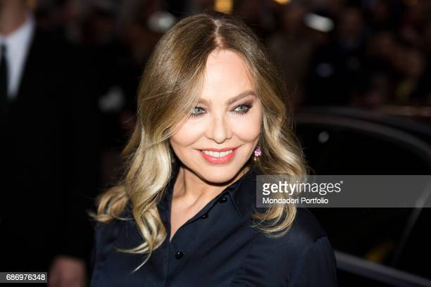 The actress Ornella Muti attending the Armani Party Milan Italy 30th April 2015