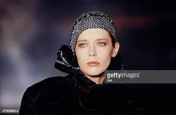 The actress Sylvia Kristel invited in the program ''Number one''