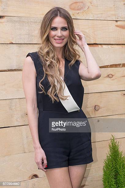 The actress Vanesa Romero attends the 'Alma En Pena' 10th anniversary party at 'VOC 1602' on April 21 2016 in Madrid Spain