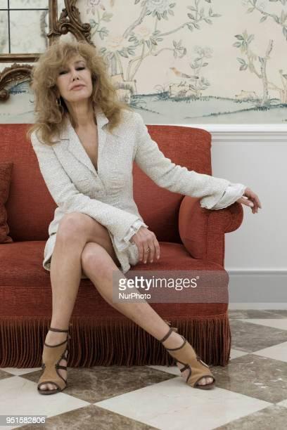 the actress Victoria Vera attends Los Coloquios del Wellington in Madrid Spain April 26 2018