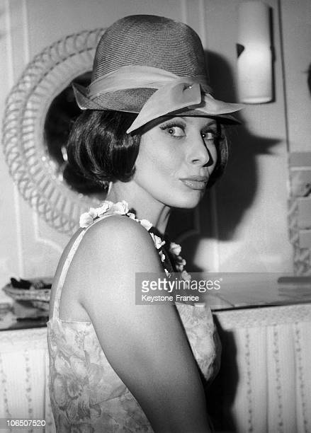 The Actress Wearing A HatWig Designed By Jacques Dessange