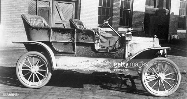 The actual car Henry Ford took on his hunting trip late in September 1908 It can be said to be the world's first regular factoryproduced Model T