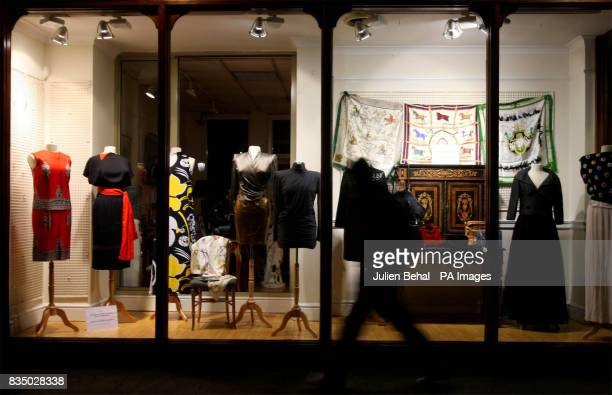 The Adam's salesroom in Dublin which will sell an exquisite collection of clothing from French fashion houses belonging to an American heiress Anne...