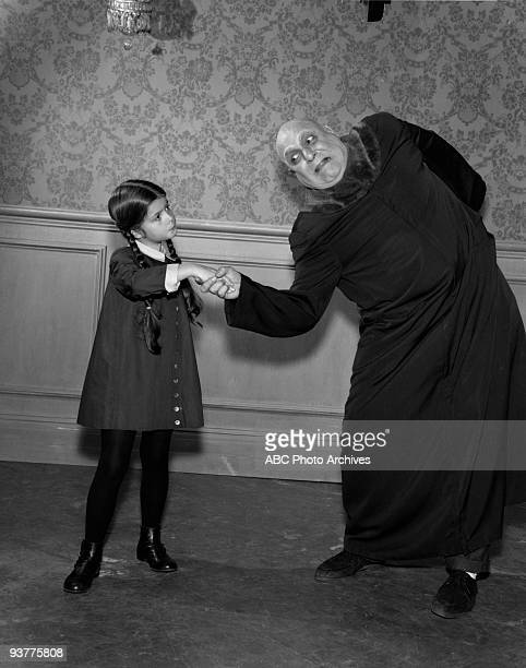 The Addams Family Fester Goes on a Diet Season One Uncle Fester shakes Wednesdays hand