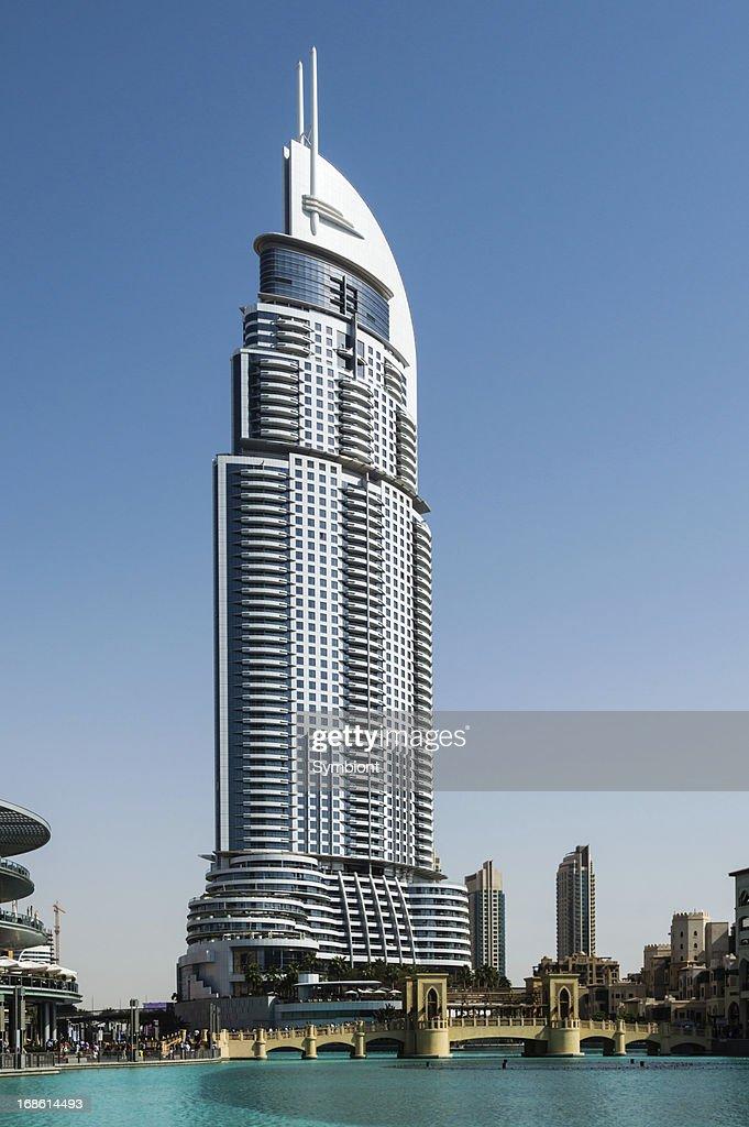 The Address Downtown Dubai Stock Photo