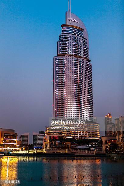 the address hotel in downtown dubai - merten snijders stock-fotos und bilder