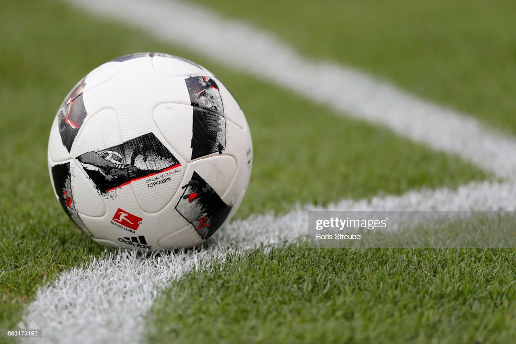 promo code cb05a 465ea The Adidas Bundesliga ball is pictured during the Second ...