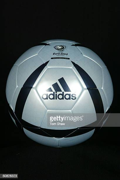 The Adidas Roteiro ball the Official Matchball of the UEFA Euro 2004 tournament in Portugal this Summer in London on the 3rd May 2004