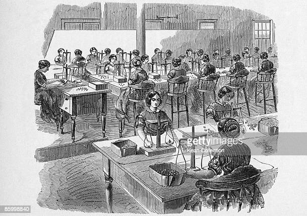 The adjusting room at the second United States Mint in Philadelphia 1861 Published in an article on coinmaking in Harpers Magazine December 1861