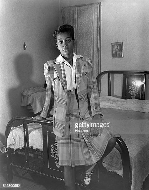 The adopted daughter of Ella Watson a US government charwoman Washington DC August 1942