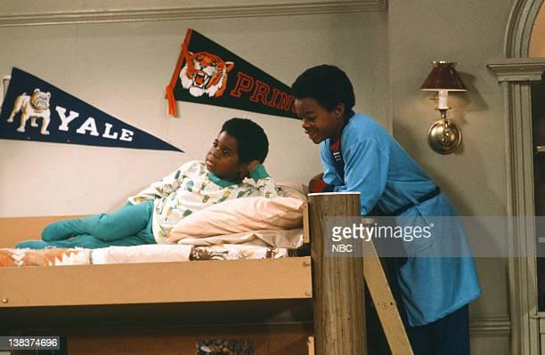 RENT STROKES The Adoption Part 1 Episode 8 Pictured Gary Coleman as Arnold Jackson Todd Bridges as Willis Jackson