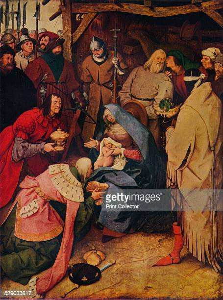 The Adoration of the Kings 1564 After an oil on panel by Pieter Bruegel the Elder From The Studio Vol 114 [At the Offices of the Studio Ltd London...