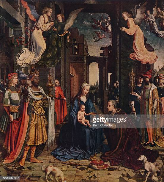 The Adoration of the Kings c1510 Painting held in The National Gallery London From WorldFamous Paintings edited by J Greig Pirie [W G Foyle Ltd...