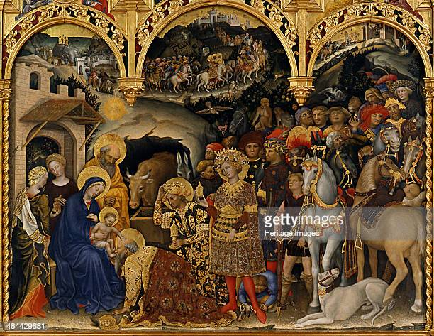 The Adoration of the Magi 1423 Found in the collection of the Galleria degli Uffizi Florence