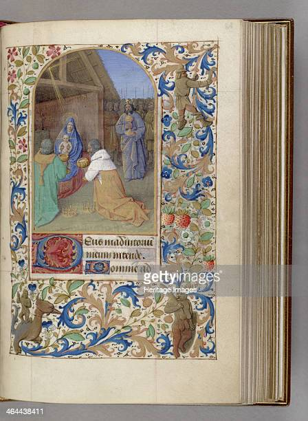 The Adoration of the Magi 14501499 Found in the collection of the The Morgan Library Museum New York