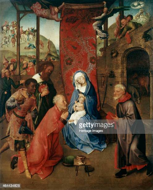 'The Adoration of the Magi' 15th century Goes Hugo van der Found in the collection of the State Hermitage St Petersburg