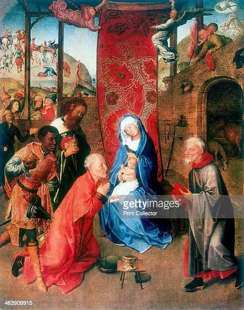 The Adoration of the Magi' 15th century The three Kings from the East Melchior Gaspar and Balthazar present their gifts of gold frankincense and...