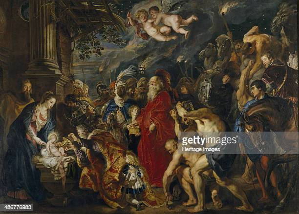 The Adoration of the Magi 16101620s Artist Rubens Pieter Paul