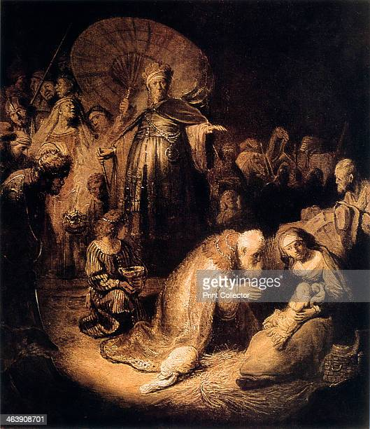 'The Adoration of the Magi' 1632
