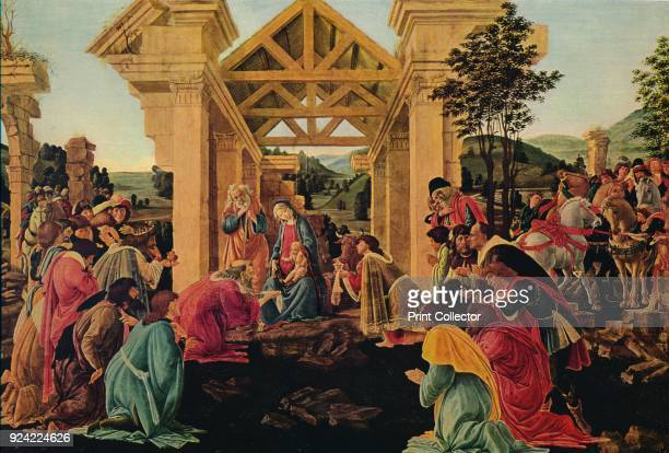 'The Adoration of the Magi' c14751476 The painting is part of the Mellon Collection National Gallery of Art Washington DC From Masterpieces of...