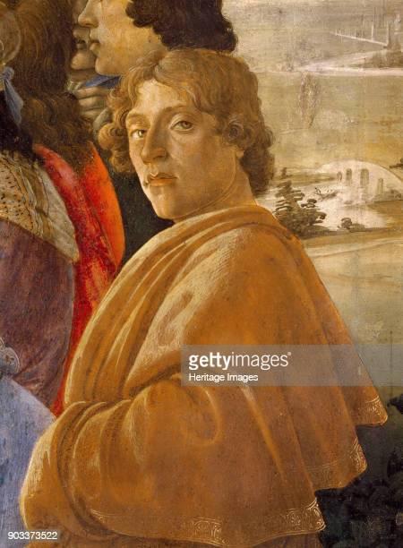 Selfportrait Found in the Collection of Galleria degli Uffizi Florence