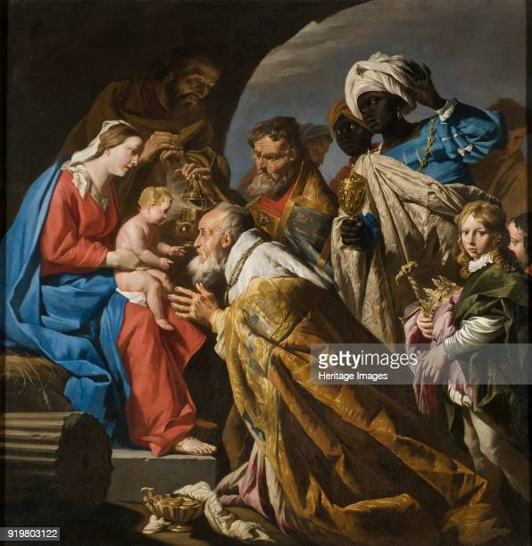 The Adoration of the Magi Early 1630s Found in the collection of Nationalmuseum Stockholm